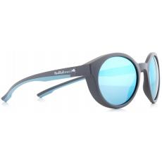 sluneční brýle RED BULL SPECT Sun glasses, SNAP-005P, anthracite, light blue, smoke with blue flash POL, 52-21-145