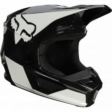 Dětská přilba Fox Yth V1 Revn Helmet, Ece Black/White