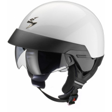 Moto přilba SCORPION EXO-100 solid bílá