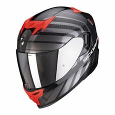 Moto přilba SCORPION EXO-520 AIR SHADE perleťově černo/červená