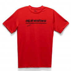 triko TECH LINE UP PERFORMANCE TEE, ALPINESTARS (červená)