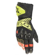 rukavice GP TECH 2 2022, ALPINESTARS (černá/žlutá fluo/bílá/červená fluo)
