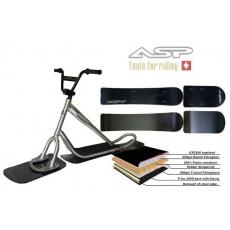 ASP Swiss Snowscoot - komplet Alu/CAP