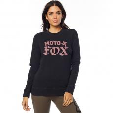 Dámská mikina Fox Moto X Crew Fleece Black