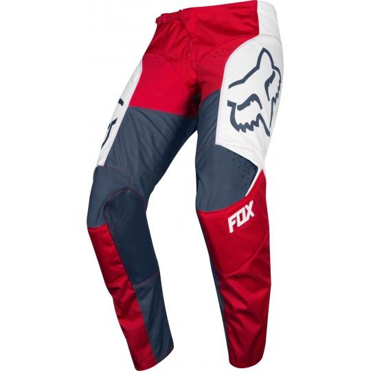 Pánské MX kalhoty Fox 180 Przm Pant Navy/Red