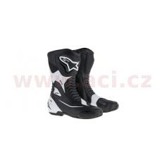 boty SMX-S, ALPINESTARS (černé/bílé)