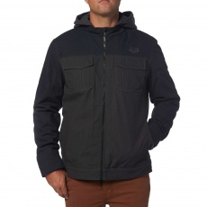 Pánská bunda Fox Racing Straightaway Jacket Heather Black
