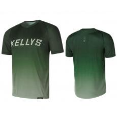 KELLYS Enduro dres  TYRION 2 krátky rukáv green- M*
