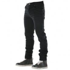 Kevlarové moto kalhoty OVERLAP CASTEL černé