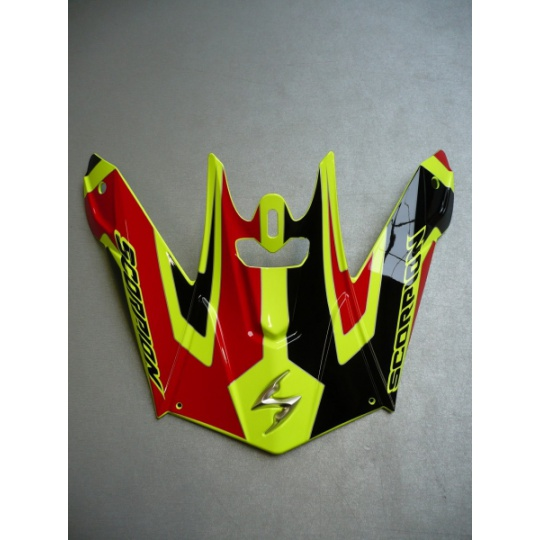 Kšilt SCORPION VX-20 AIR SPACE neonově žlutý