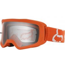 Race brýle Fox Main Race Goggle Fluo Orange