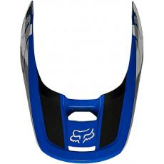 Náhradní kšilt Fox V1 Helmet Visor - Revn Blue