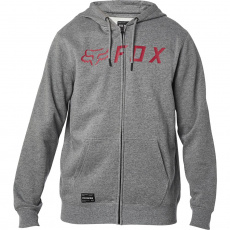Pánská mikina Fox Apex Zip Fleece Heather Graphite