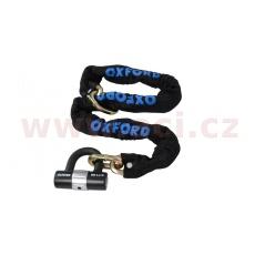 řetězový zámek na motocykl HD Loop s kovaným okem pro možnost provléknutí do smyčky, OXFORD (délka 1,2 m)