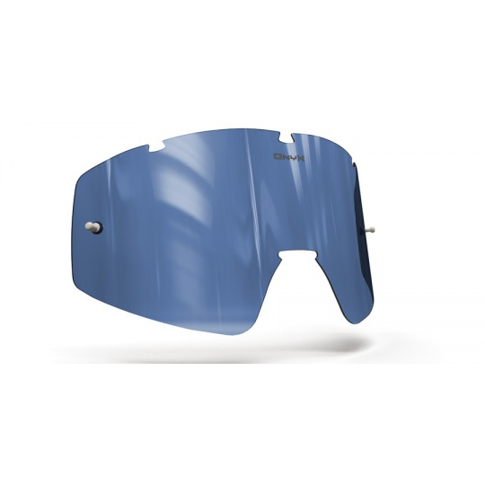plexi pro brýle FLY RACING FOCUS / ZONE, ONYX LENSES (modré s polarizací)