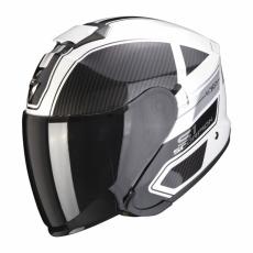 Moto přilba SCORPION EXO-S1 CROSS-VILLE bílo/černo/stříbrná