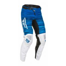 kalhoty KINETIC WAWE, FLY RACING - USA 2022 (bílá/modrá)