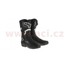 boty S-MX 6, ALPINESTARS (černé/bílé)