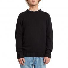 Pánský svetr Volcom Edmonder Sweater Black