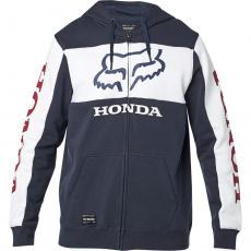 Pánská mikina Fox Honda Zip Fleece Navy/White