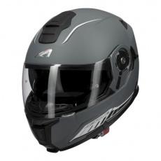 Moto přilba ASTONE RT1200 EVO DARK SIDE matná tmavě šedo/bílá
