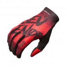 7idp Seven Transition DĚTSKÉ rukavice Gradient Red / Black