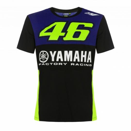 Triko Valentino Rossi VR46 YAMAHA modro/žluté 362009