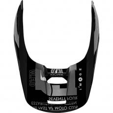 Náhradní kšilt Fox V1 Helmet Visor - Illmatik Black