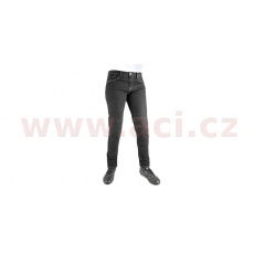 ZKRÁCENÉ kalhoty Original Approved Jeans Slim fit, OXFORD dámské (černá)