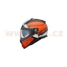 přilba Zephir Mars, V-HELMETS (oranžová/bílá)