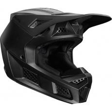 Pánská helma Fox V3 Solids Helmet, Ece Matte Black