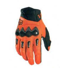 Pánské rukavice Fox Bomber Glove Flo Org