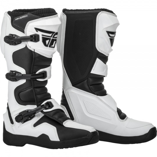 boty NEW Maverik, FLY RACING (černá/bílá)