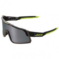 Sluneční brýle JUST1 SNIPER černo/fluo žluté