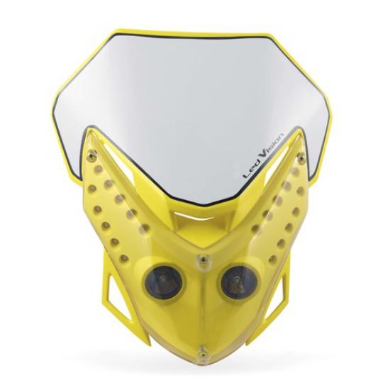 ACERBIS maska se světlem Led Vision nehomologovaná