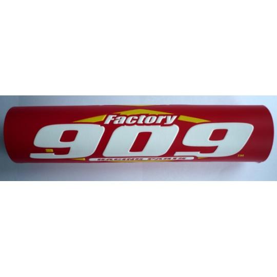 Chránič hrazdy na řídítka FACTORY 909 červený