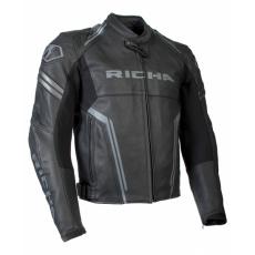 Moto bunda RICHA ASSEN černá - nadměrná velikost