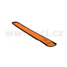 reflexní pásek Bright Halo se světlem z optických vláken, OXFORD (oranžová fluo, rozměry D x Š = 353 x 45 mm)