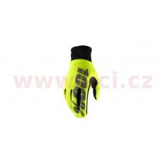 rukavice HYDROMATIC, 100% (neon žlutá)