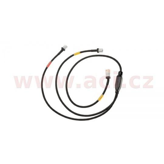 kabeláž k současnému připojení WiFi commu LC a TC, GET