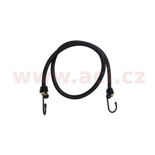 """gumicuk """"pavouk"""" délka/průměr popruhu 900/10 mm se zakončeními pomocí drátových háků, OXFORD (černý, homologace TUV/GS)"""