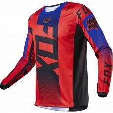Dětský dres Fox Yth 180 Oktiv Jersey Fluo Red