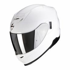 Moto přilba SCORPION EXO-520 AIR solid bílá