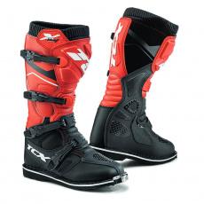 Moto boty TCX X-BLAST černo/červené