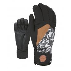 Pánské rukavice Level Cruise Black-White 8.5 -