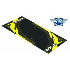 Koberec pod moto 100x160cm Hurly SUZUKI RM-Z 4T černo/žlutý