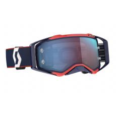 brýle PROSPECT, SCOTT - USA (modrá/červená/ modré chrom plexi)
