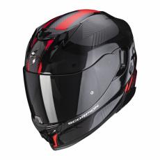 Moto přilba SCORPION EXO-520 AIR LATEN černo/červená