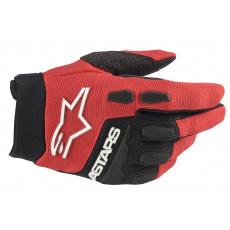 rukavice FULL BORE 2022, ALPINESTARS, dětské (červená/černá)
