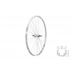 "KELLYS Zapletené kolo zadní KLS EVENT V-brake R, 28"", silver"